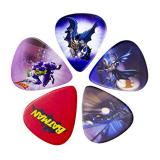 DC Comics Batman And Joker Guitar Plectrum/Pick Set