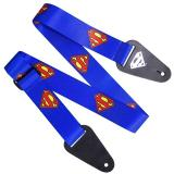 Superman Logo Fabric Guitar Strap