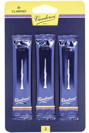 Vandoren Traditional Clarinet Reeds - Pack of 3