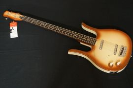 Danelectro Long Horn Bass Left Hand - copperburst