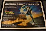 Back to the Future Framed Movie Poster