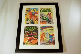 Digital Comic Print - Framed