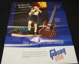 Gibson SG and ACDC poster catalogue