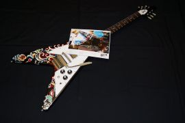 Gibson Limited Run Hendrix Psychedelic Flying V