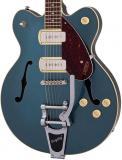 G2622T-P90 Streamliner Centre Block Double-cut P90 With Bigsby - Gunmetal