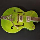 Gretsch G6120T-HR Brian Setzer Hot Rod - Extreme Coolant Green Sparkle