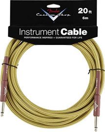 Fender Custom Shop Performance Series Instrument Cable - 20ft Tweed
