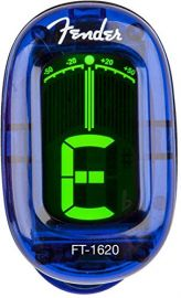 Fender Lake Placid Blue - Clip On Tuner