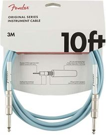 Fender Original Series Instrument Cable - Daphne Blue (10ft)