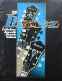 Ibanez Full & Semi Acoustic Electric Guitar Catalogue - 1982