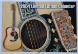 Martin Guitars Limited Edition Calendar (2004)