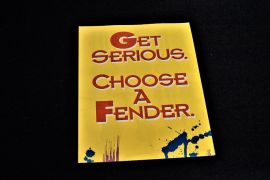 Fender 90`s Pull Out poster catalogue