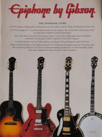 Epiphone Catalogue - Epiphone by Gibson