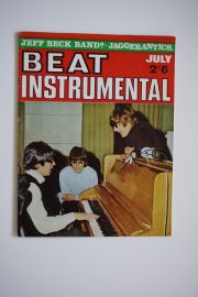 Beat Instrumental Magazine - July 66 - Beatles cover