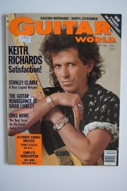 Guitar World Magazine - Dec 88 - Keith Richards