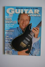 Guitar World Magazine - Nov 87 -  Knopfler
