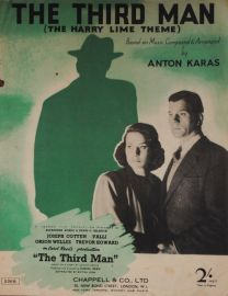 The Third Man (The Harry Lime Theme) Sheet Music