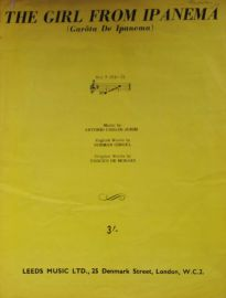 The Girl From Ipanema Sheet Music