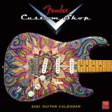 Fender Custom Shop Guitars 2021 Calendar