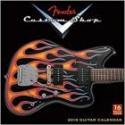 Fender Custom Shop Guitar 2019 Calendar (Square)