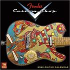 Fender Custom Shop Guitars 2020 Square Wall Calendar
