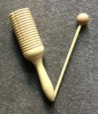 Wooden Agogo (with beater)