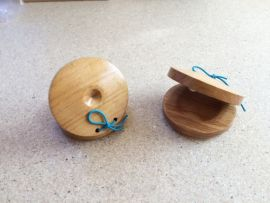 Wooden Castanets (Pair)