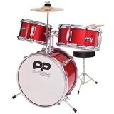Performance Percussion - 3 Piece Drum Kit - Red