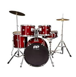 PP 5PC FUSION DRUM KIT- WINE RED