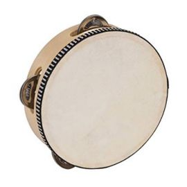 Performance Percussion Tambourine (6 Inch)