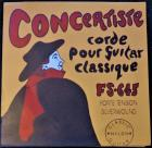 Concertiste Nylon Classical strings (set-hard tension)