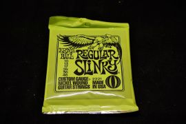 Ernie Ball Regular Slinky Electric Guitar Strings (Gauge 10-46)