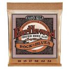 Ernie Ball Earthwood Rock & Blues Phosphor Bronze Acoustic String Set( .010 - .052)