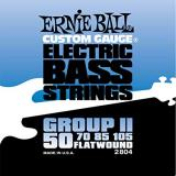 Ernie Ball Flatwound Bass Set Group II - 50-105