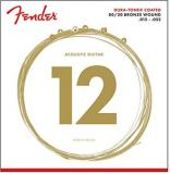Fender Duratone 80/20 Bronze Acoustic Guitar Strings (12-52)