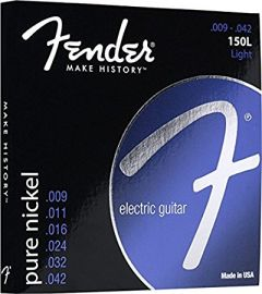 Fender Nickel Wound Electric Guitar Strings Light 9-42 (150L)