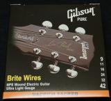 Gibson Brite Wires NPS Wound Electric Strings 9-42