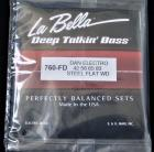 La Bella 760-FD Stainless Steel Flatwound for Danelectro Long Horn