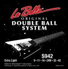 La Bella original Double Ball System Strings 9-42