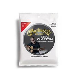 Martin Claptons Choice Acoustic Guitar Strings - Phosphor Wound (Light, .012 - .054)