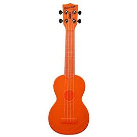 Kala Makala Waterman Soprano Ukulele -Fluorescent Orange