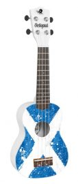Octopus Soprano Ukulele - Saltire Design - Inc Bag