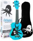 Octopus Soprano Ukulele - Graphic Series - Kane Blue