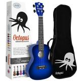 Octopus Concert Ukulele inc Bag - Blue Burst